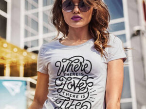 Gandhi Shirt Quote Women T Shirt