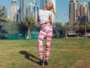 Lipstick Leggings For Women