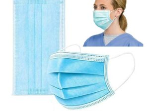 3 Ply Disposable Face Mask – 50 Pack Earloop Face Mask